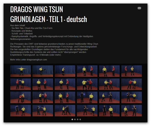 Wing Tsun Video Modul 1 - Grundlagen, dt.